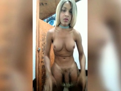 Bitch with huge tits jerks off big cock in hanjob video