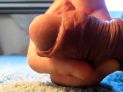 soft cock and foreskin fun
