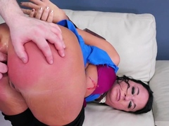 Extremely sexy milf and rough daddy punishment Fuck my