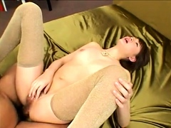 Asian Group Sex and Double Penetration Fun
