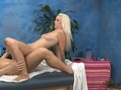 Cheerful blonde woman Stevie Shae gets fucked thoroughly