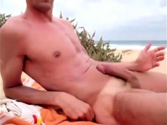 masturbating-at-the-beach