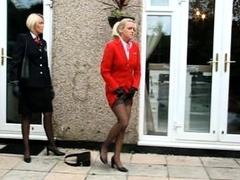 Sexy amateur blonde Eurobabe Alexis Leone public sex