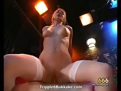 Horny Dirty Blonde Babe Riding Big Hard Part 4