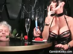 Older Guy Is Sex Slave To Two Dirty Part6